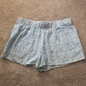 Joie silk printed shorts sz m